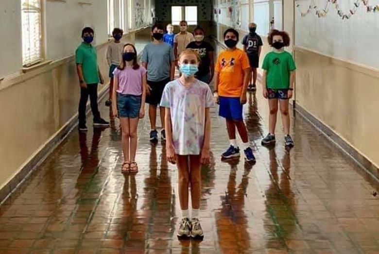 kids hallway school