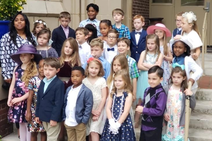 Ms. Jenkins' class Manners Tea Party